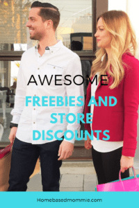 Awesome Freebies and Store Discounts