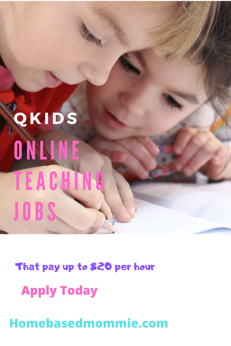 Qkids Online Teaching Jobs that Pay up to $20 Per Hour